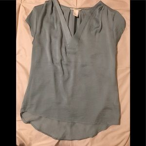 Seafoam color blouse